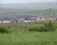 Vue sur la ferme de Hishem Kanzari, située dans le gouvernorat de Siliana. (Photo CFJ / M.C.)