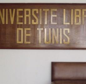 En 2009, l'Université Libre de Tunis a été placé sous tutelle de l'Etat (photo CFJ/ S. L.)