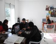 L'équipe de développement est très jeune: 24 ans de moyenne d'âge. Un chiffre à mettre en parallèle avec la catégorie d'âge des 14-30 ans, qui représente l'énorme majorité des joueurs tunisiens.