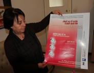 Balkis Mechri-Allagui, vice-présidente de la Ligue tunisienne des droits de l'Homme. (photo CFJ / M-L.A)
