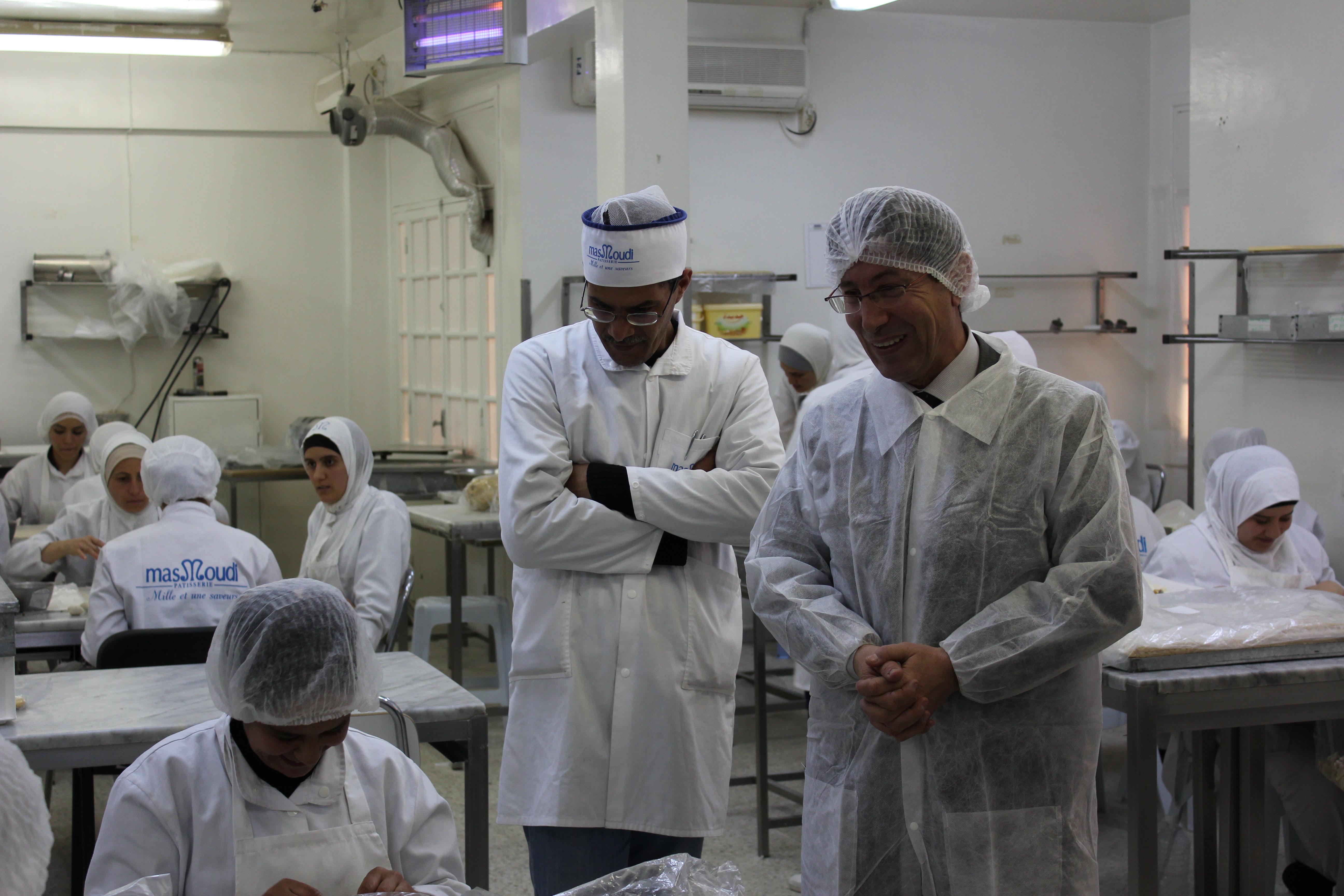 L\u0027ambiance familiale se retrouve dans l\u0027atelier de fabrication. (Photo CFJ  / M,L. A.)