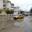 Les rues de Gabès inondées (photo CFJ / P.J. )
