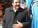 Mohamed Aziz Battikh, vendeur de Sidi Bou Saïd (photo Pauline Jacot / CFJ)