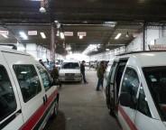 La gare de louage de Moncef Bey à Tunis (photo CFJ / Pauline Jacot)