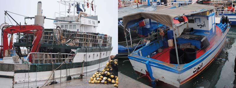 bateau de peche occasion a vendre en tunisie