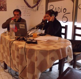 Le studio de Radio 6